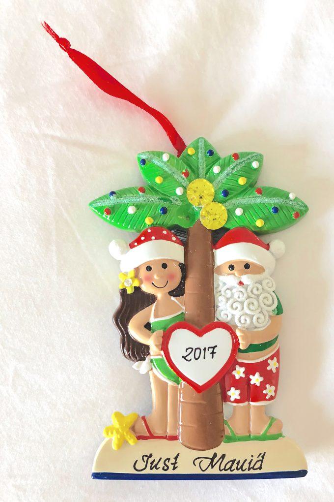Just Maui'd ornament