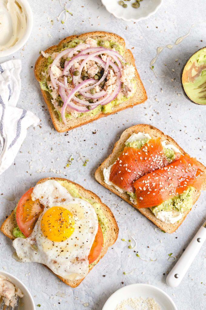 3 Easy Avocado Toast Recipes