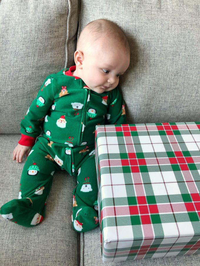 James and his first present