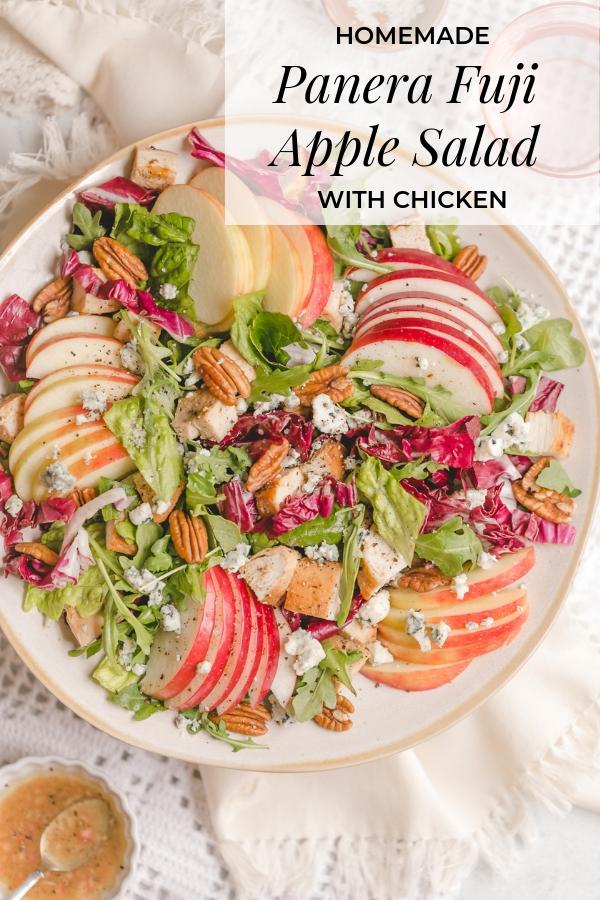 Homemade Panera Fuji Apple Salad