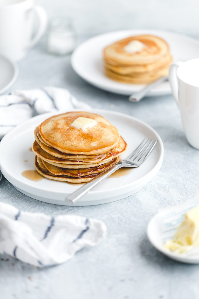 whole wheat pancakes for breakfast