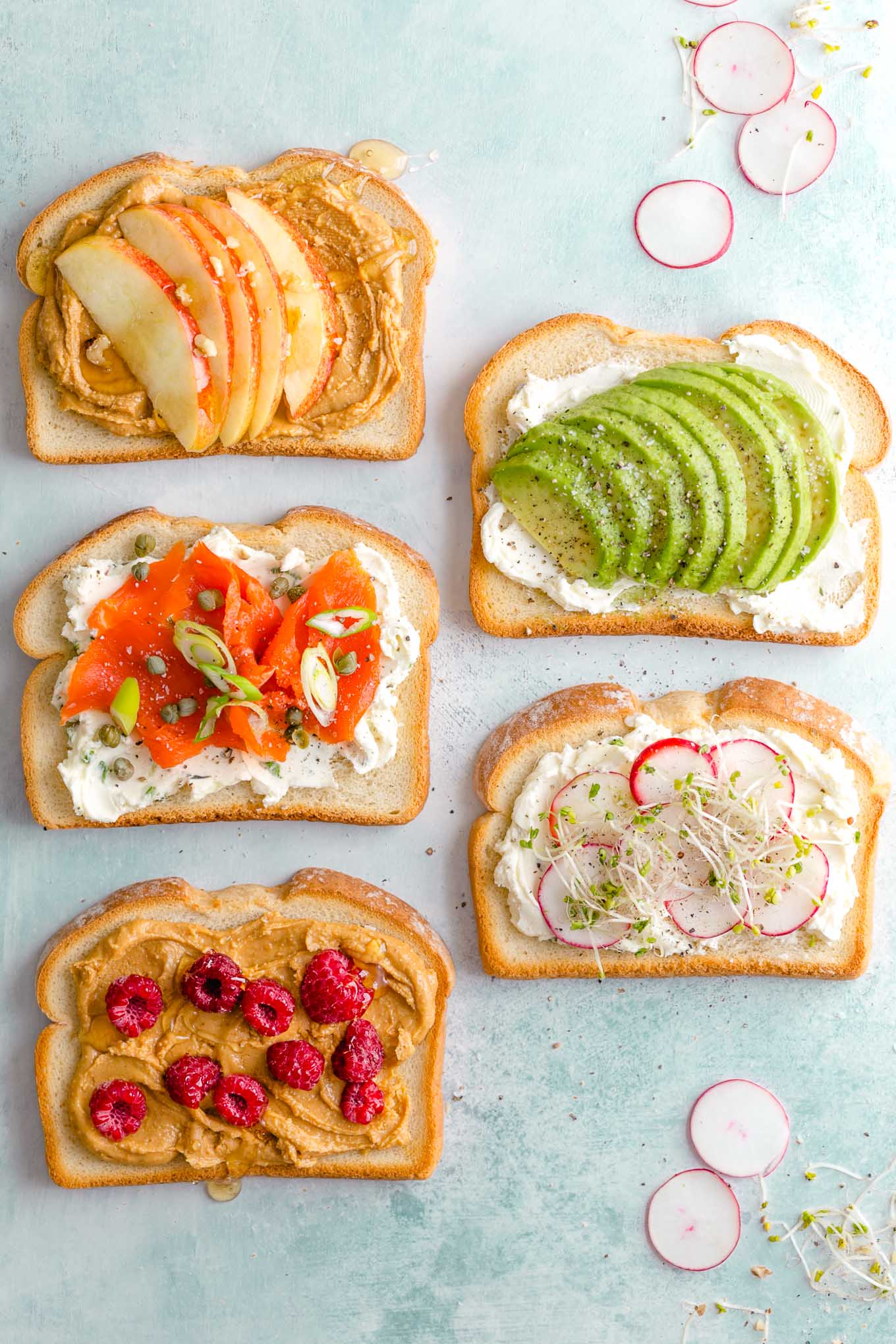toast toppings ideas