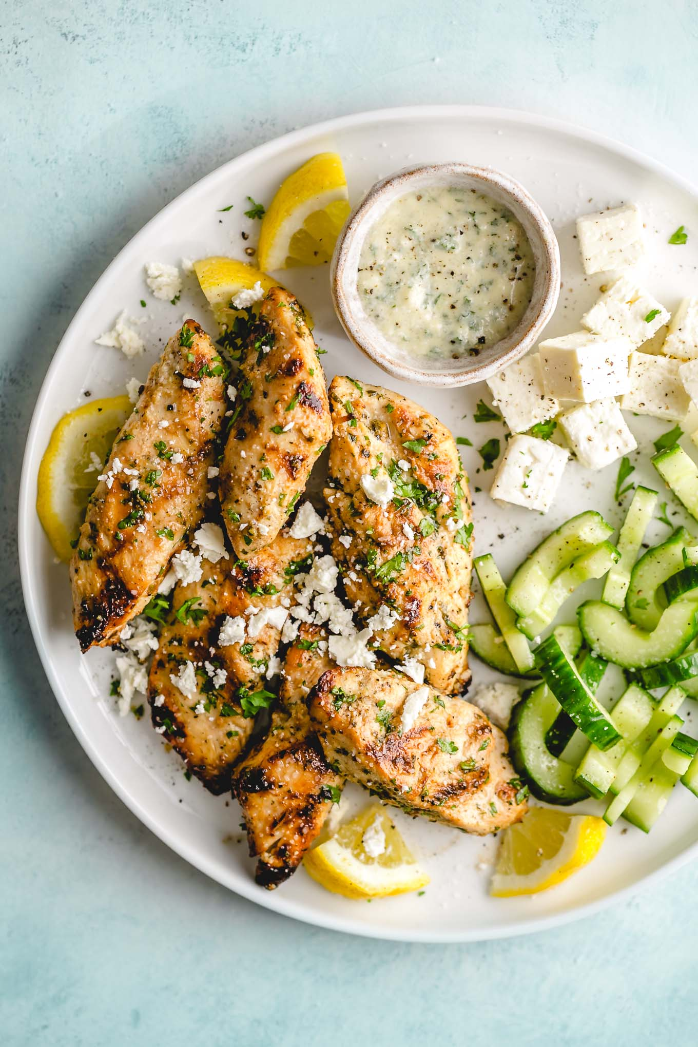 lemon herb marinade for grilled chicken