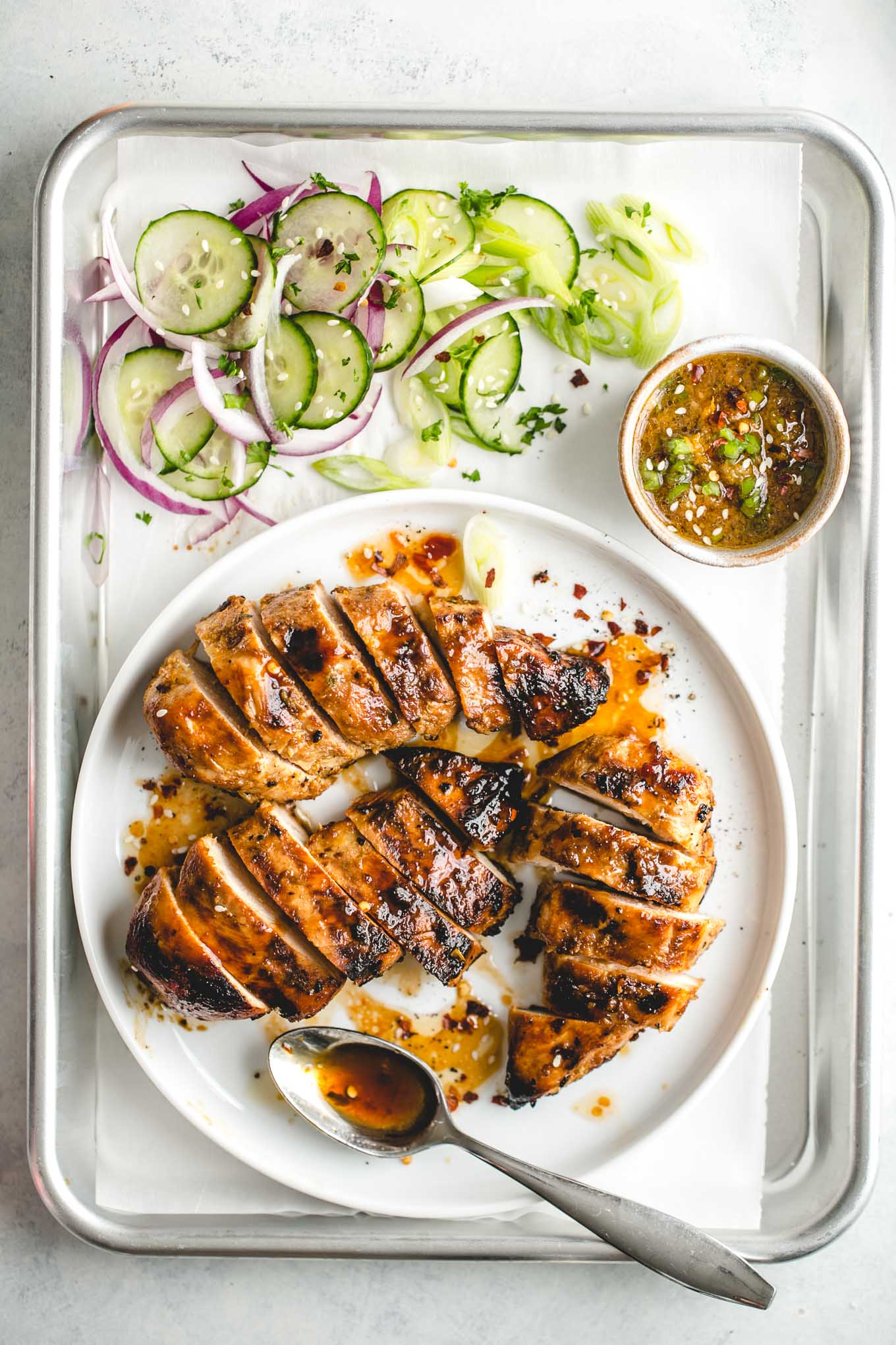 Asian marinade for grilled chicken