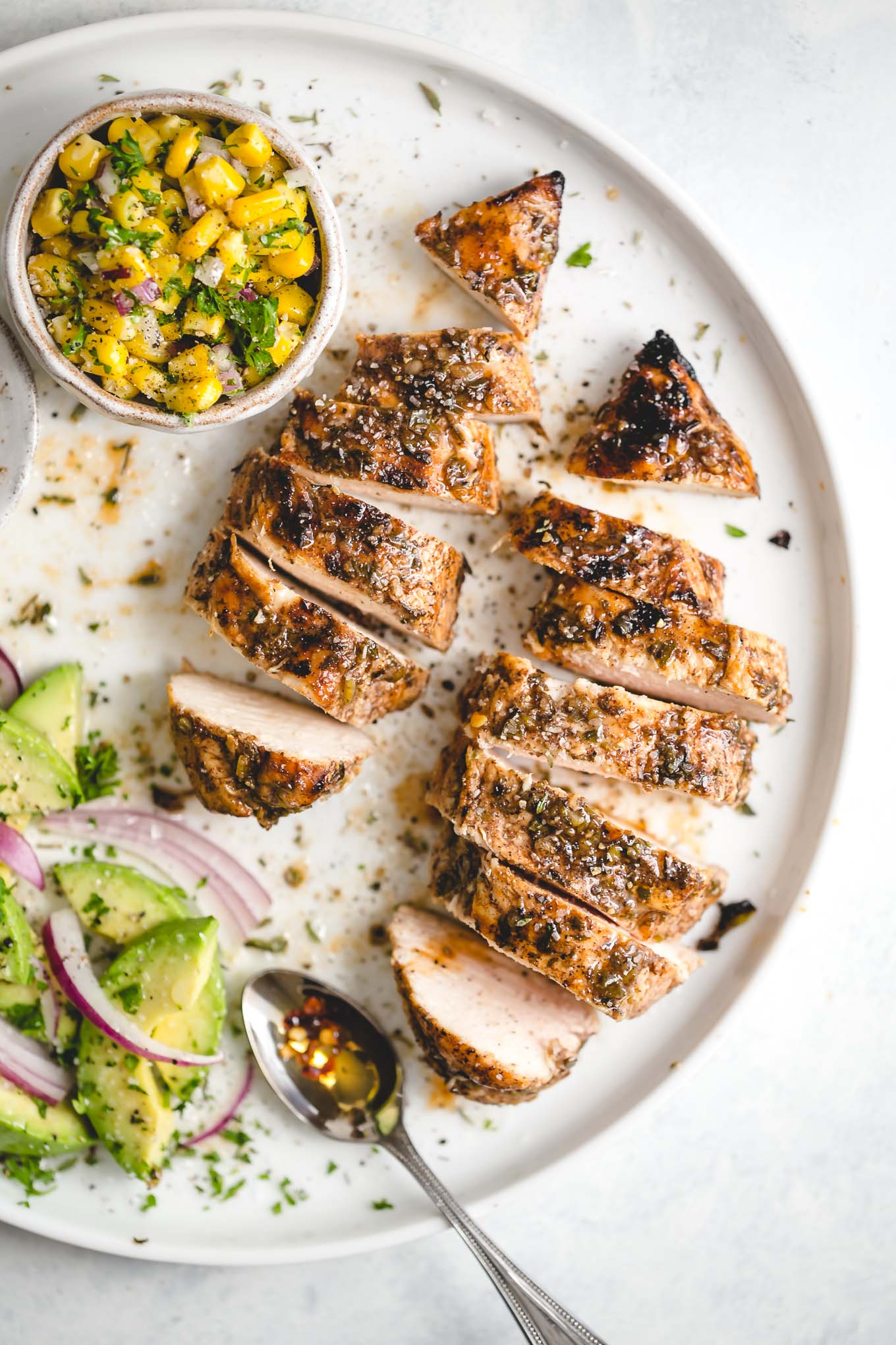 caribbean-marinated grilled chicken recipe