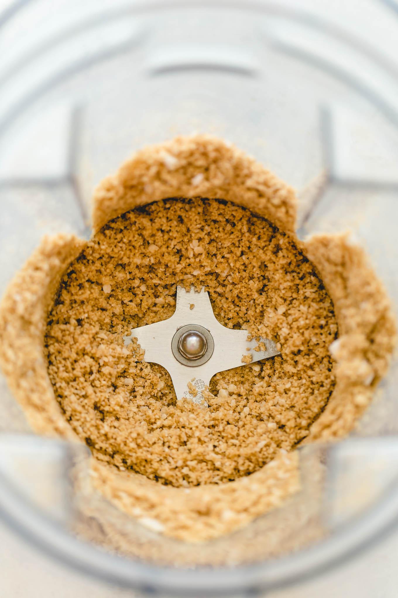 Chocolate Cream Pie with Pecan Crust 6