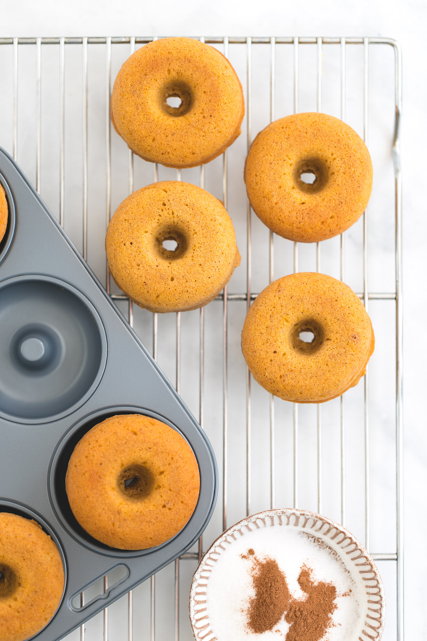 how to bake pumpkin donuts
