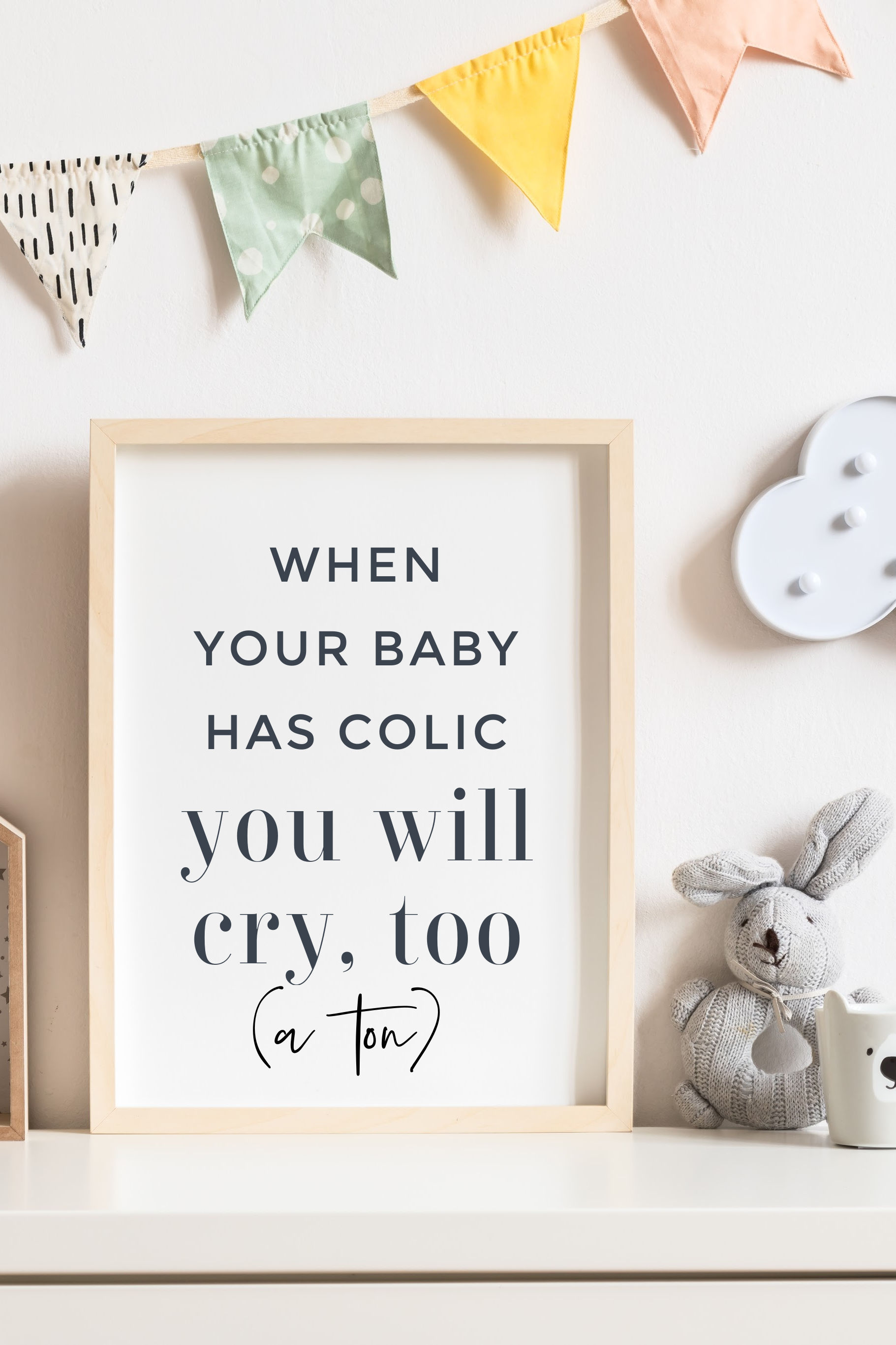 Having a Child with Colic – Andie Mitchell