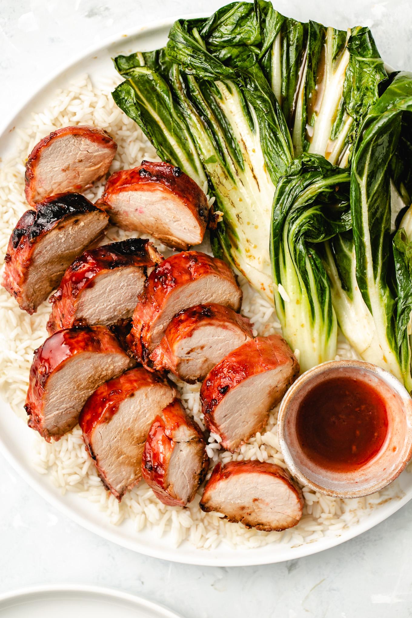Pork Tenderloin with Ah So Sauce